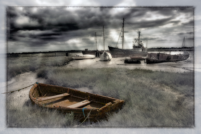 Abandoned Boats  Brightlingsea  IDN0183165-GRB