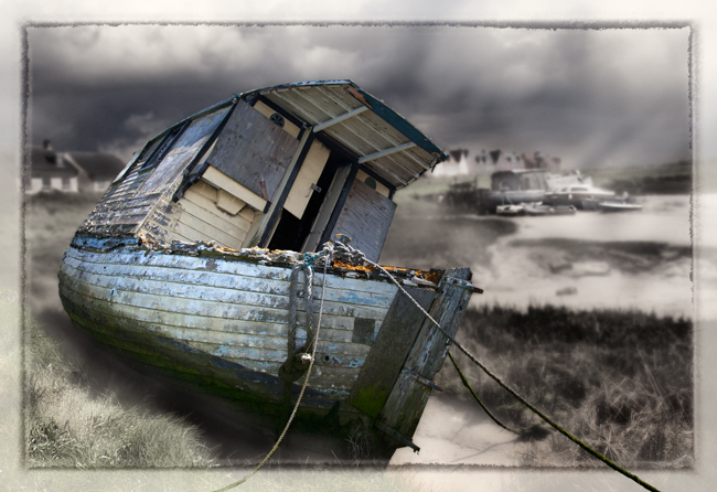 Abandoned Boats  Heybridge Creek  IDN0177785-GRB